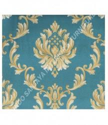 wallpaper MADONA:MD8042 corak Klasik / Batik (Damask) warna Putih