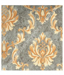 wallpaper MADONA:MD8043 corak Klasik / Batik (Damask) warna Cream
