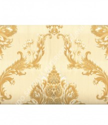 wallpaper MADONA:MD3501 corak Klasik / Batik (Damask) warna Cream