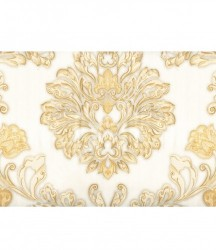 wallpaper MADONA:MD3590 corak Klasik / Batik (Damask) warna Cream