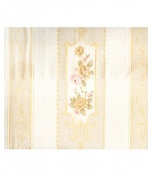 wallpaper MADONA:MD7361 corak Klasik / Batik (Damask) warna Cream
