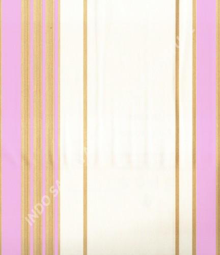 wallpaper MADONA:MD2904 corak Garis warna Putih ,Biru ,Pink