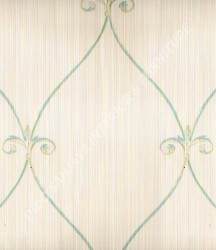 wallpaper Kansai:13-22151 corak Klasik / Batik (Damask) warna Abu-Abu
