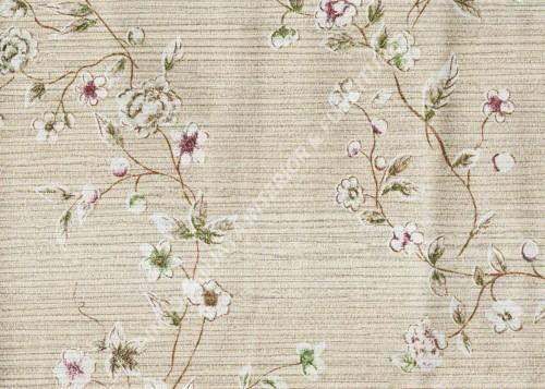 wallpaper Kansai:13-22163 corak Klasik / Batik (Damask) warna Abu-Abu