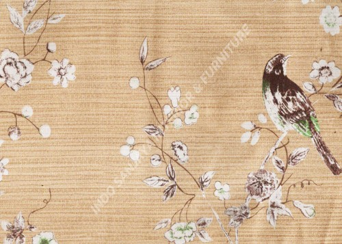 wallpaper Kansai:13-22165 corak Klasik / Batik (Damask) warna Abu-Abu