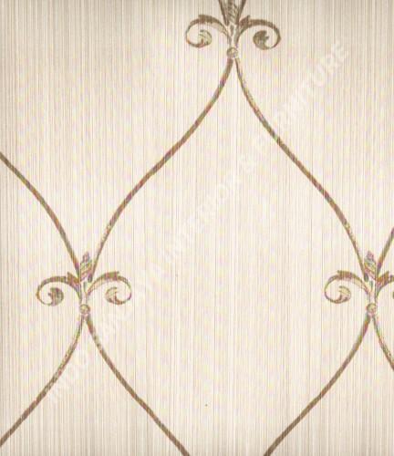 wallpaper Wallpaper Klasik Batik (Damask) 13-22153:13-22153 corak  warna