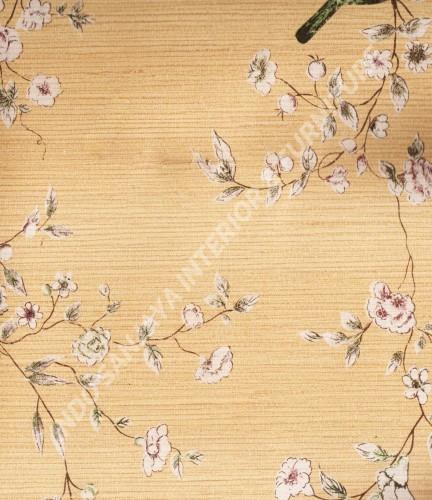 wallpaper Wallpaper Klasik Batik (Damask) 13-22164:13-22164 corak  warna