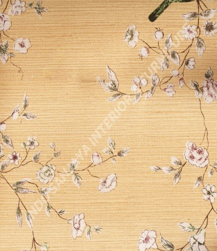 wallpaper Kansai:13-22164 corak Klasik / Batik (Damask) warna Abu-Abu